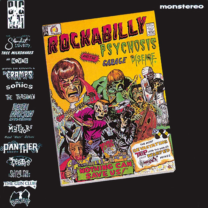 Rockabilly Psychosis and the Garage Disease album cover