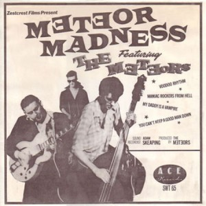 1980 Meteor Madness first album
