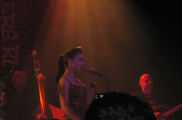Imelda May on stage in NYC