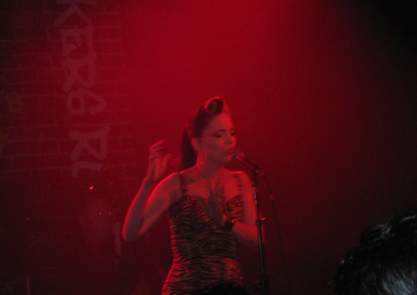 Imelda May on stage NYC in Sept 2014