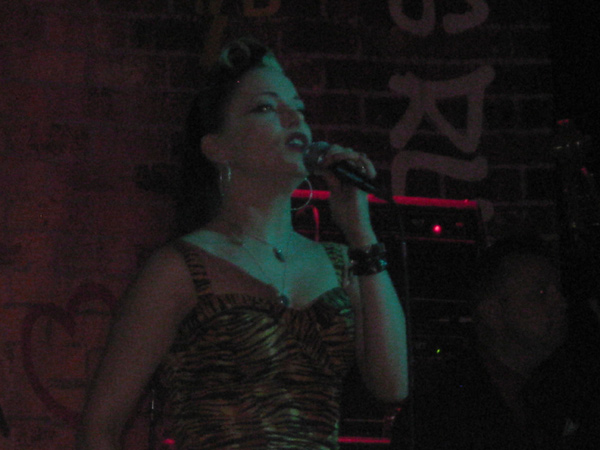 Imelda May on stage NYC