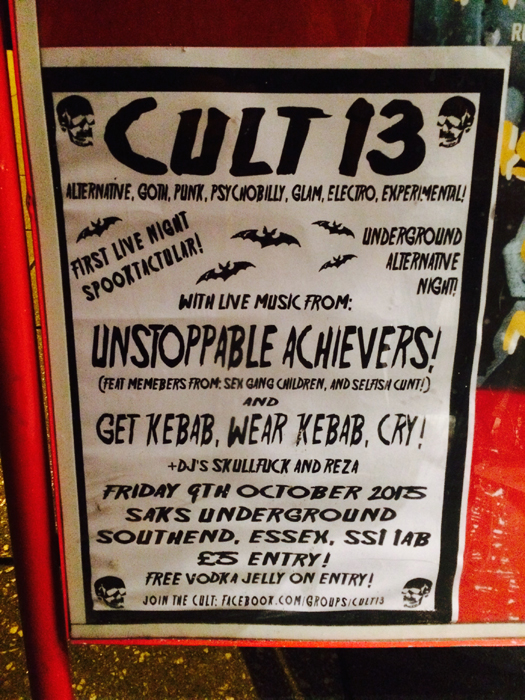 cult-13-southend-poster