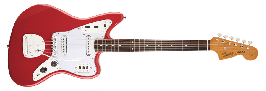 Fender Jaguar guitar