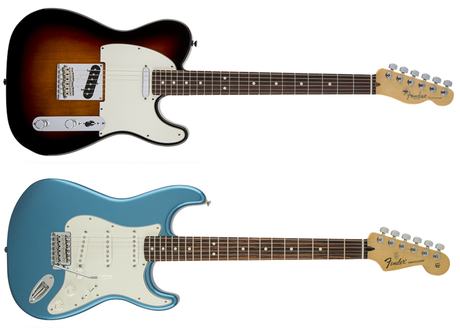 Fender Telecaster and Strat